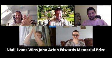 Niall Evans Wins John Arfon Edwards Memorial Prize offered by Welsh Motoring Writers