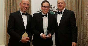 Final Day To Enter GOMW Awards (GOMW Journalist of the Year Alex Grant with Gallagher's David Gray)