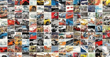 Automotive Art Project Featuring The N Collection, James Page and Steve Rendle