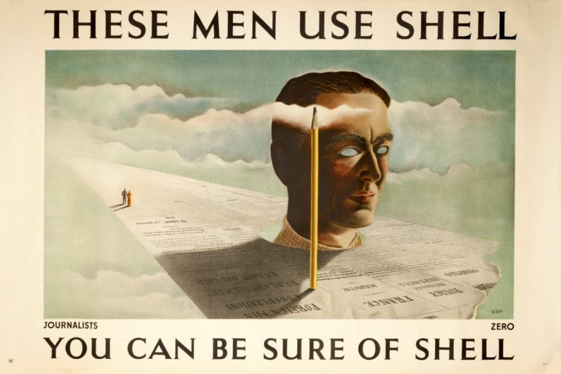 Shell Poster Auction To Raise Funds For The National Motor Museum Trust - Journalists
