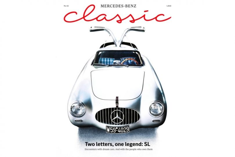 Mercedes-Benz Classic Magazine 1/2021: Touch the fascination of Mercedes-Benz SL