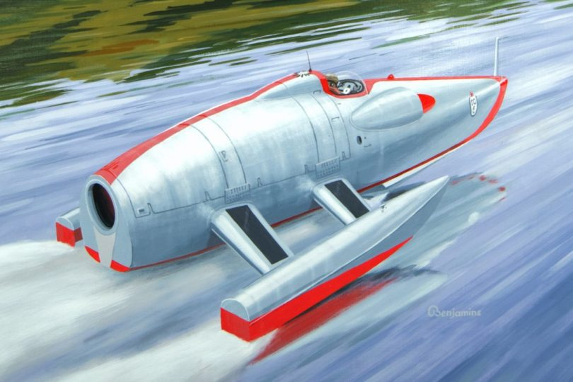 CRUSADER - John Cobb's ill-fated quest for speed on water, Steve Holter