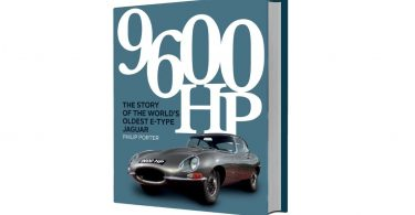 The World's Oldest Jaguar E-Type Stars In Latest Book From Porter Press