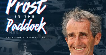 """Alpine F1 teams launches """"Prost in the Paddock"""", the first podcast series dedicated to Alain Prost"""