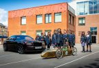 Young Designer Competition winner takes delivery of Greenpower car
