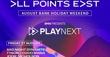 BMW turns up the volume in collaboration with All Points East festival