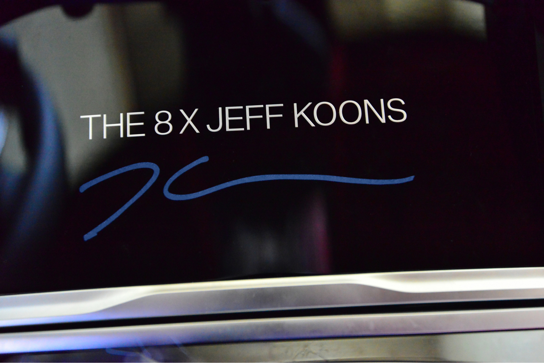 Jeff Koons X BMW - The artist creates a special edition of the BMW 8 Series Gran Coupe